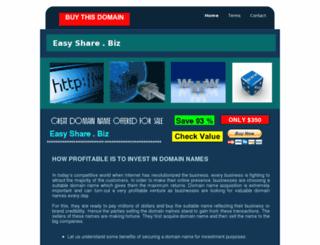 easyshare.biz screenshot