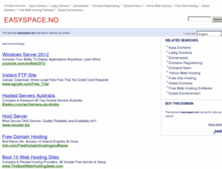 easyspace.no screenshot