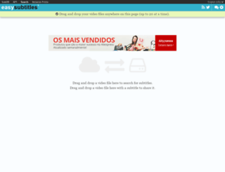 easysubtitles.com screenshot