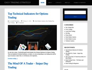 easytradingstrategy.com screenshot