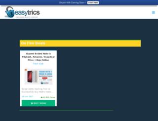 easytrics.in screenshot