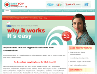 easyvoiprecorder.com screenshot