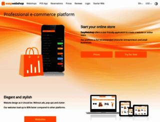 easywebshop.com screenshot
