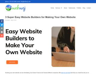easywebsitebuilders.net screenshot