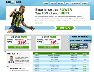 easywinbets.com screenshot