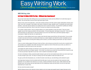 easywritingwork.com screenshot