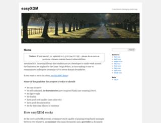 easyxdm.net screenshot