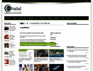 eat-halal.com screenshot