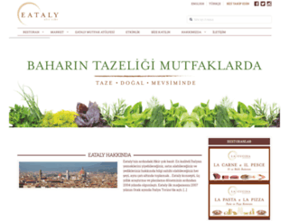 eataly.com.tr screenshot