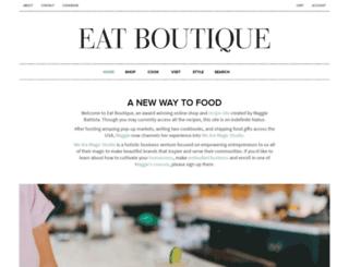eatboutique.com screenshot