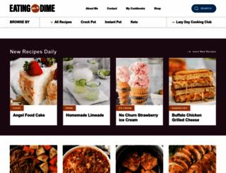 eatingonadime.com screenshot