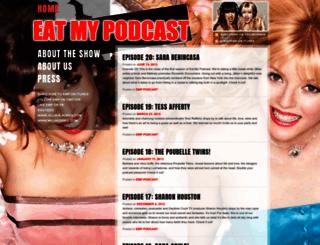 eatmypodcast.com screenshot