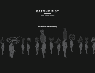 eatonomist.com screenshot