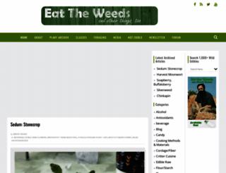 eattheweeds.com screenshot