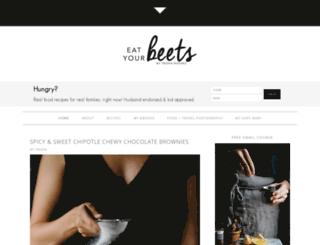 eatyourbeets.com screenshot