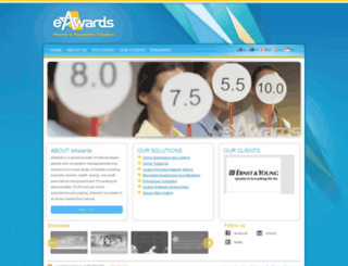 eawards.com.au screenshot