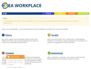 eaworkplace.com screenshot