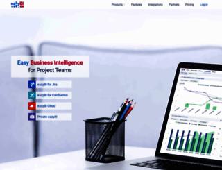 eazybi.com screenshot