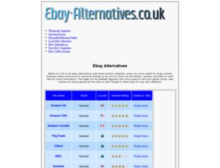 ebay-alternatives.co.uk screenshot