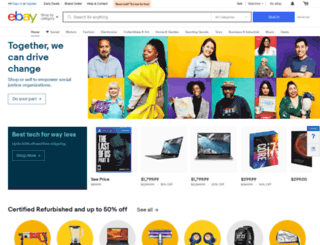 ebay.cz screenshot