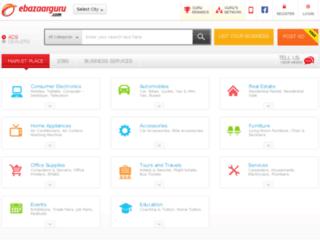 ebazaarguru.com screenshot