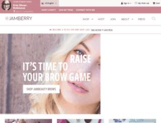 eberryshop.jamberrynails.net screenshot
