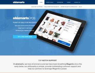 ebizmarts.com screenshot
