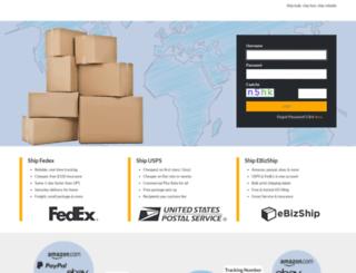ebizship.net screenshot