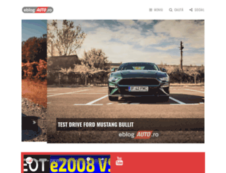 eblogauto.ro screenshot
