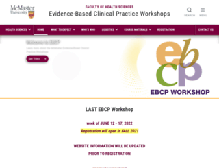 ebm.mcmaster.ca screenshot