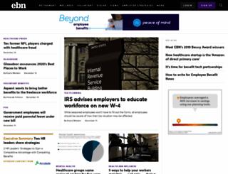 ebn.benefitnews.com screenshot