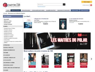 ebook.chapitre.com screenshot