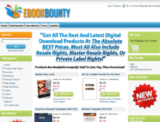 ebookbounty.com screenshot