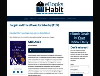 ebookshabit.com screenshot