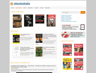 ebooksitalia.com screenshot