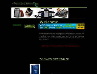ebooksmostwanted.com screenshot