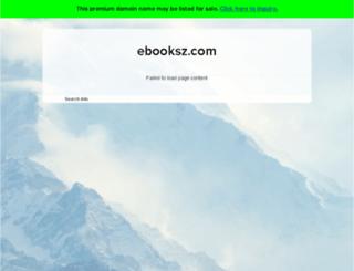 ebooksz.com screenshot