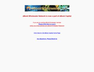 ebookwholesaler.net screenshot