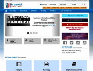 ebpl.org screenshot