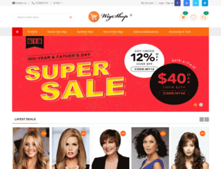 ebuywigs.com screenshot