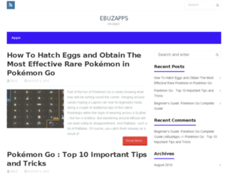 ebuzapps.com screenshot