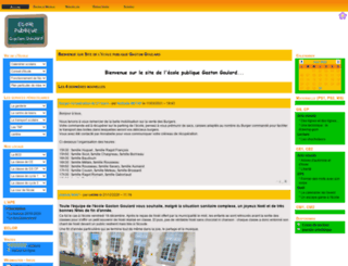 ec-gastongoulard-85.ac-nantes.fr screenshot