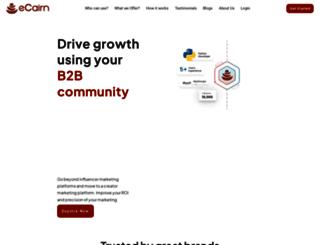 ecairn.com screenshot