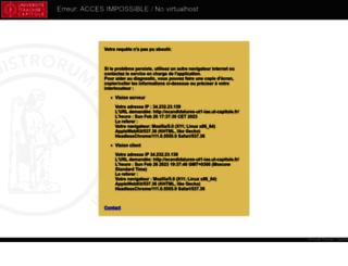 ecandidatures-ut1-iae.ut-capitole.fr screenshot
