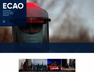 ecao.org screenshot