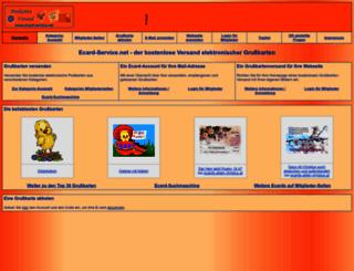 ecard-service.net screenshot