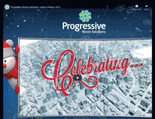 ecard.progressivewaste.com screenshot