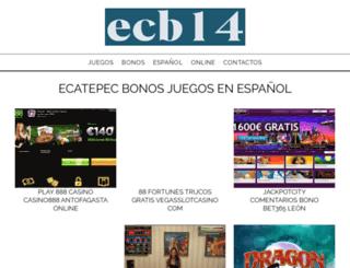 ecb14.eu screenshot
