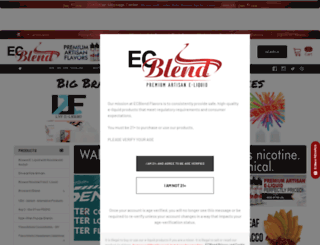 ecblend.com screenshot