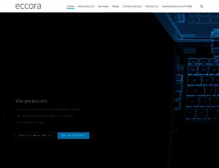 eccora.com screenshot